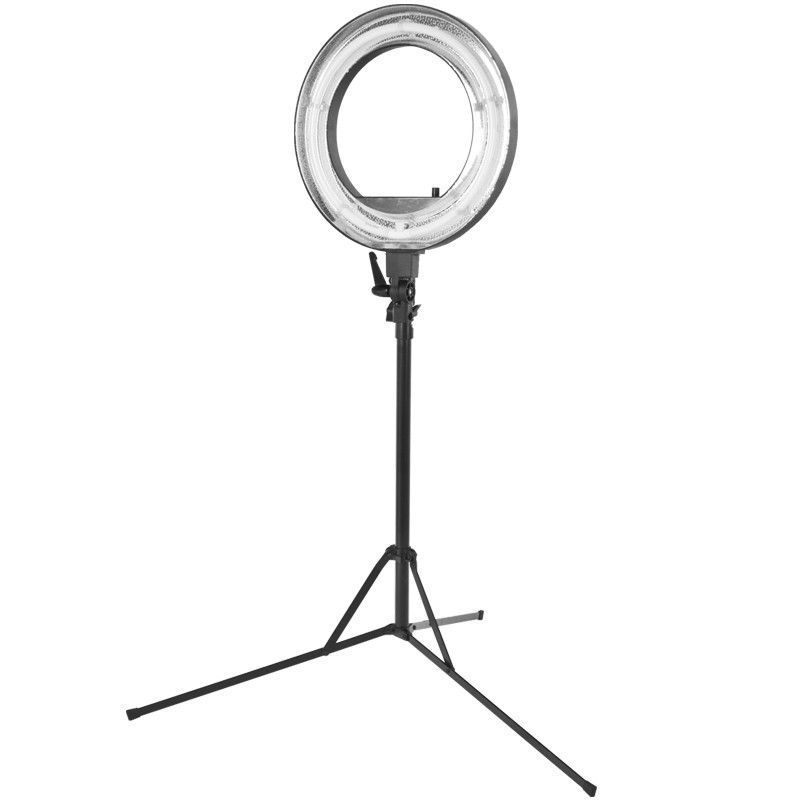 "Prstencová lampa RING LIGHT 18"" 55W FLUORESCENT se stativem"