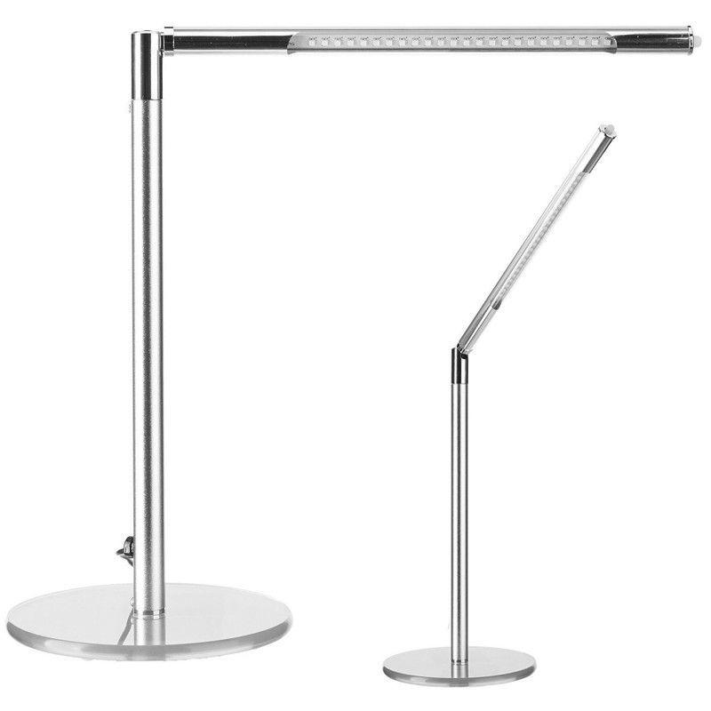Stolní lampa LED ULTRA SLIM stříbrná