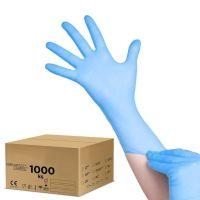 Jednorázové nitrilové rukavice modré - XL - karton 10ks (AS)