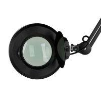 LED LAMPO-LUPA S5 na stativu s kolečky - černá