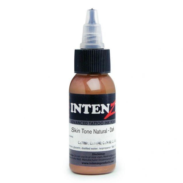 Tetovací barva Intenze Ink 30ml, Andy Engel - Skin Tone Natural Dark (K)