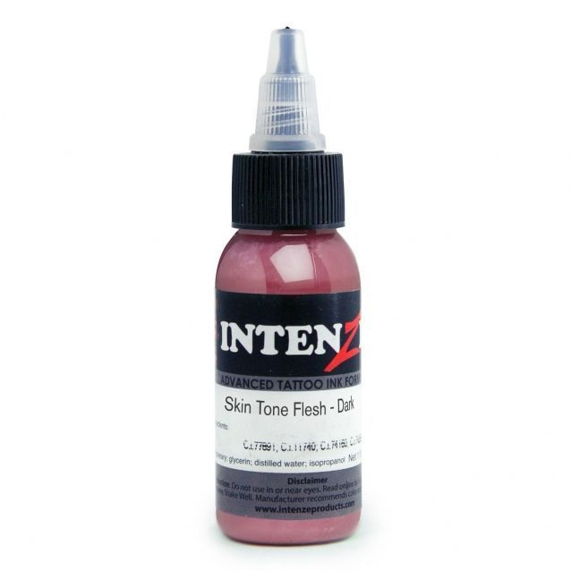 Tetovací barva Intenze Ink 30ml, Andy Engel - Skin Tone Flesh Dark (K)