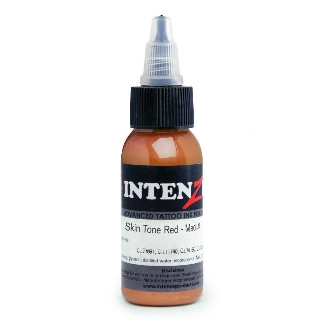 Tetovací barva Intenze Ink 30ml, Andy Engel - Skin Tone Red Medium (K)
