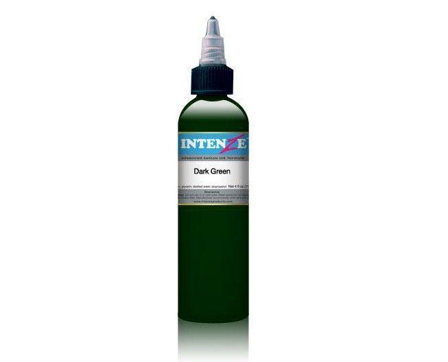 Tetovací barva Intenze Ink 30ml, Dark Green (K)