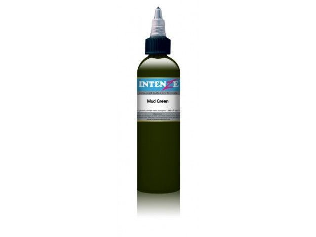 Tetovací barva Intenze Ink 30ml, Mud Green (K)