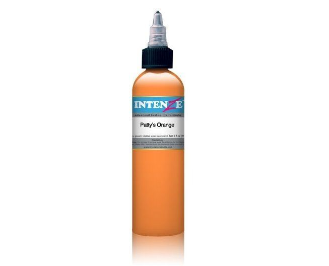 Tetovací barva Intenze Ink 30ml, Patty's Orange (K)