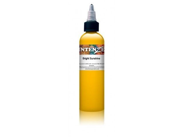 Tetovací barva Intenze Ink Boris Colors 30ml, Bright Sunshine (K)
