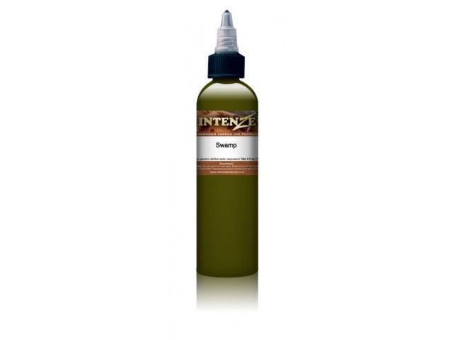 Tetovací barva Intenze Mike DeMasi 30ml, Swamp Green (K)