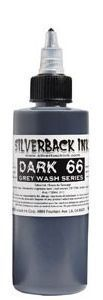 Tetovací barva Silverback Ink DARK 66 - 120ml (K)