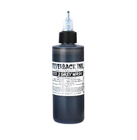 Tetovací barva Silverback Ink Grey Wash XXX2-120ml (K)