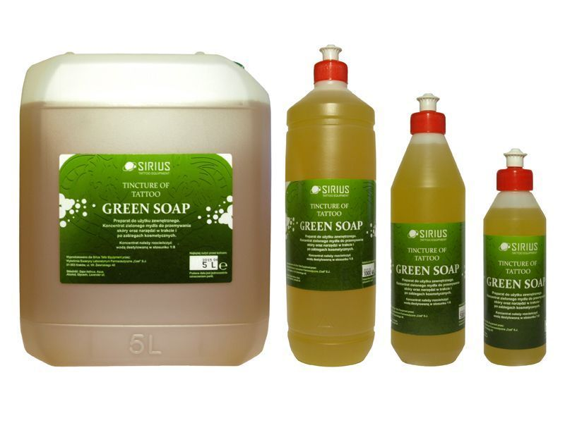 Zelené mýdlo SIRIUS GREEN SOAP - koncentrát 5000ml (AT)