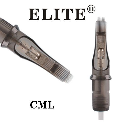 Tetovací jehly - cartridge CMG 0.35mm long taper ELITE II