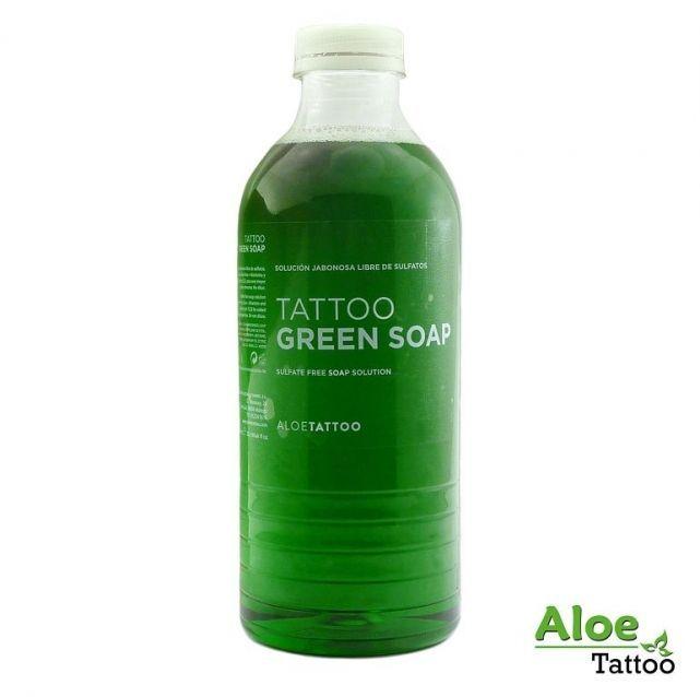 Aloe zelené mýdlo s Alantoinem 1000ml