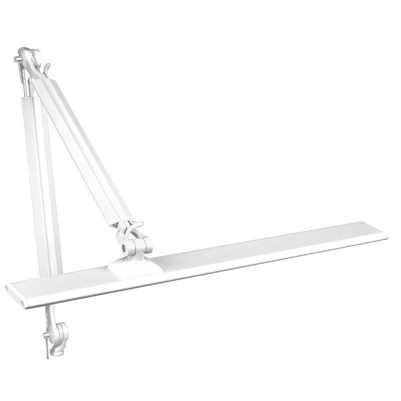 Bílá stolní LED lampa