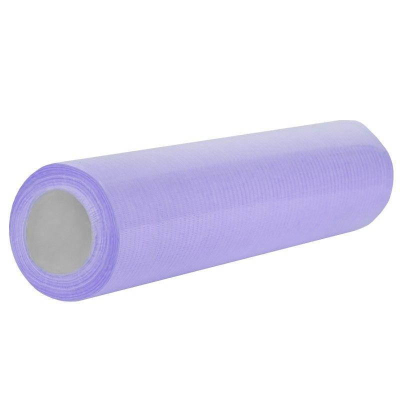 Jednorázová kosmetická papírová role fialová