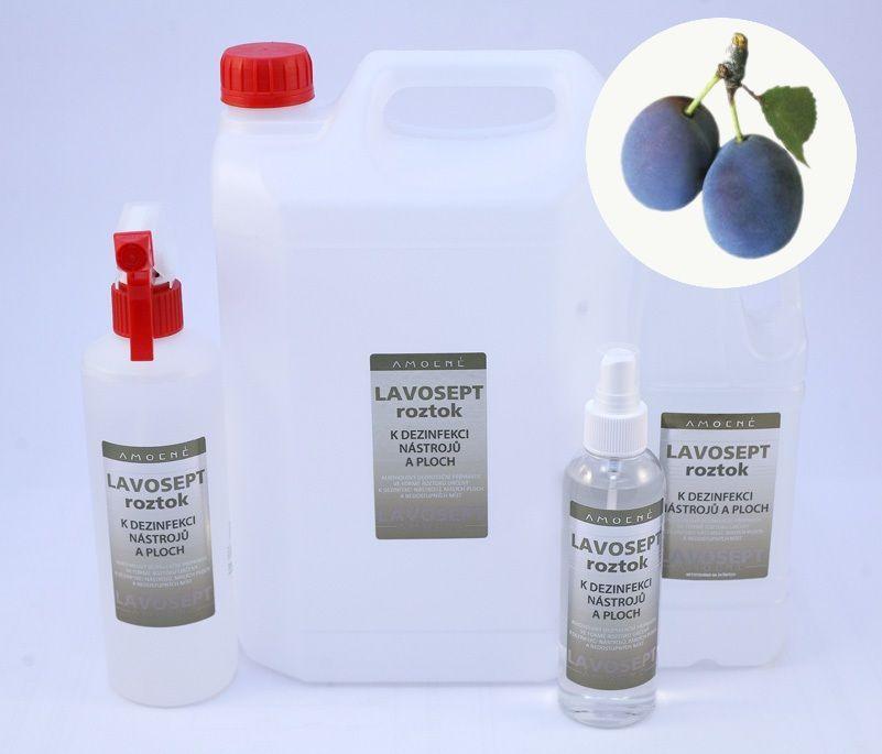 Lavosept® dezinfekce na nástroje a plochy 200 ml sprej - aroma trnka