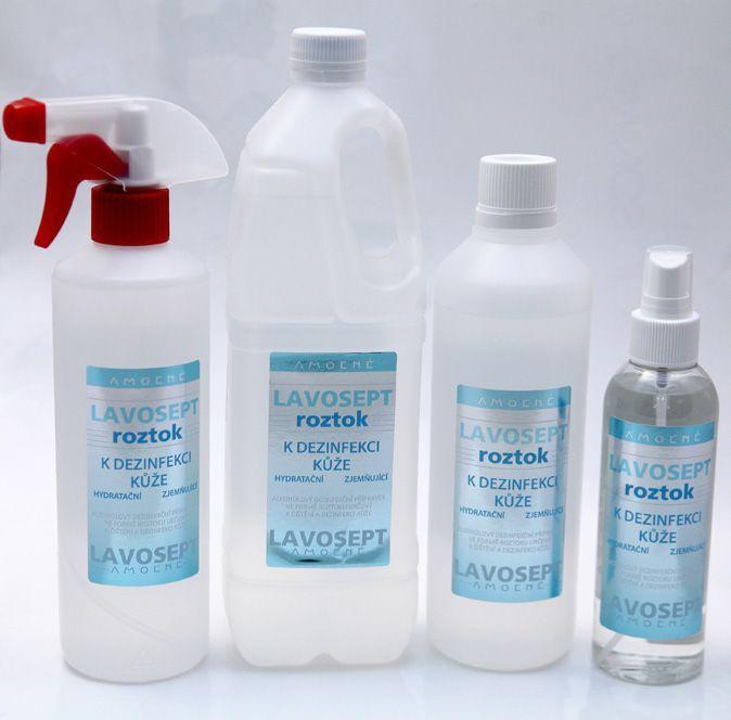 Lavosept® roztok - dezinfekce 500 ml (s rozprašovačem) - bez aroma