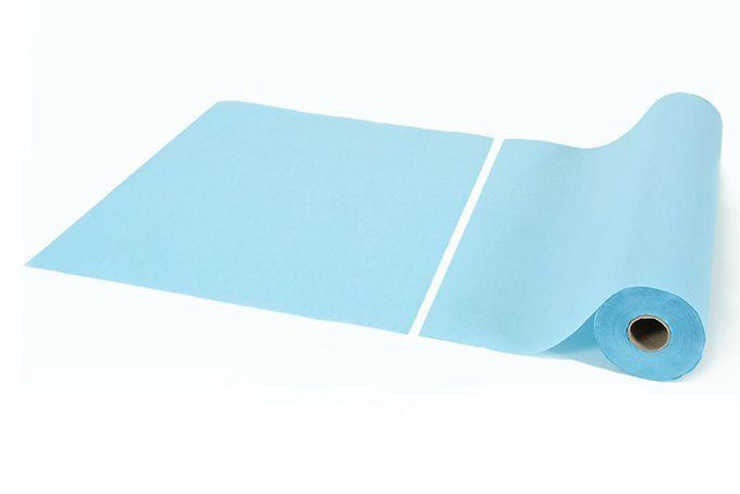 Jednorázová lékařská podložka modrá 50x50