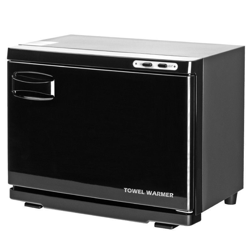 Ohřívač ručníků s UV-C sterilizátorem černý