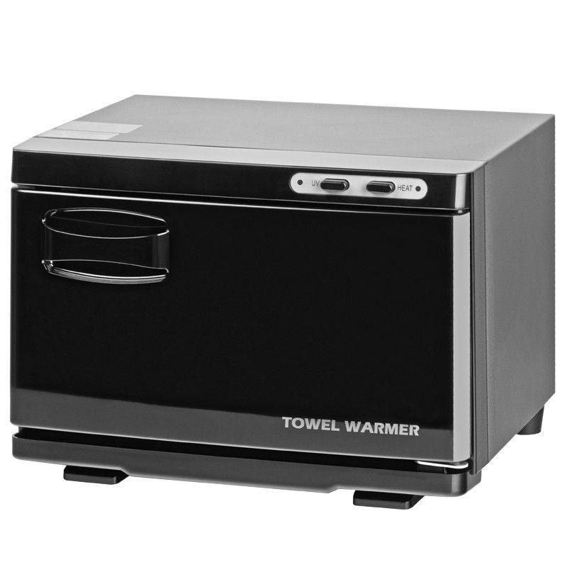 Ohřívač ručníků s UV-C sterilizátorem černý - malý